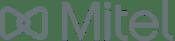 Mitel grey logo